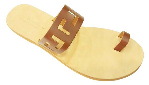 greek handmade leather sandals 674