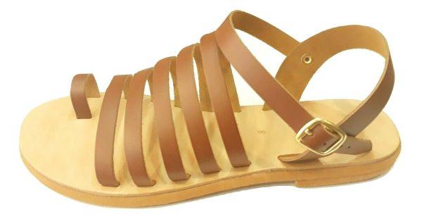 greek handmade leather sandals 681