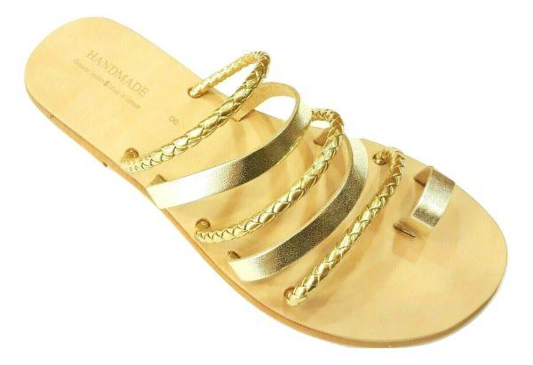 greek handmade leather sandals 708