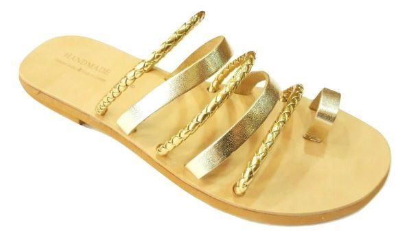 greek handmade leather sandals 711