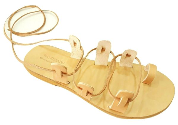 greek handmade leather sandals 735