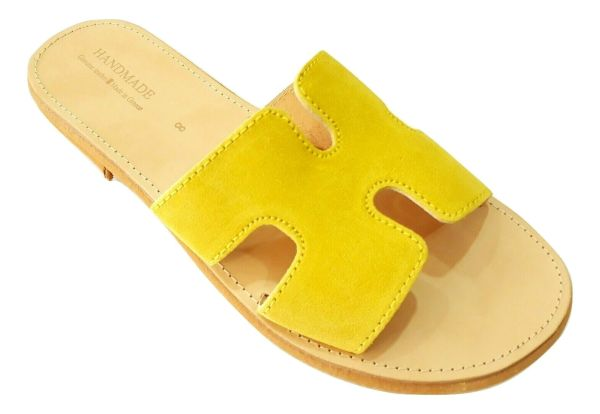 greek handmade leather sandals 740