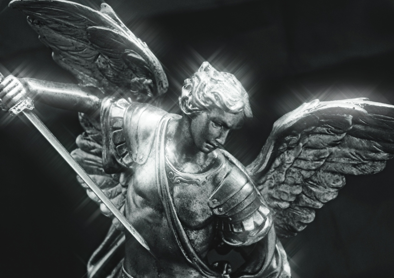 St Michael with Shining Sword