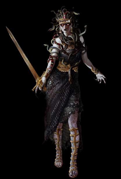 Assassin's Creed Odyssey Minotaure : assassin's, creed, odyssey, minotaure, Ancient, Greek, Assassin's, Creed, Odyssey:, Medusa,, Minotaur, More?, Origins