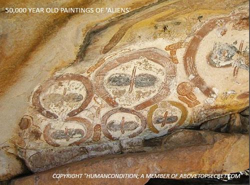 Wandjina - Aboriginals - Extraterrestrials