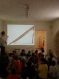 """Παρουσίαση του τριγώνου από τον """"Τάφο του ποιητή"""" του αρχαίου δήμου της Αλωπεκής"""