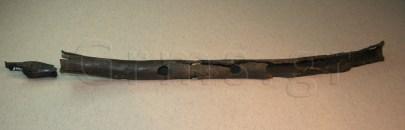 Εικ. 14. Πειραιάς, Αρχαιολογικό Μουσείο. Αυλός Δάφνης: επιστόμιο και σωλήνας.