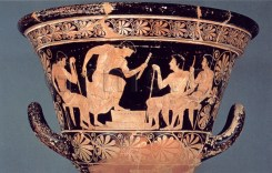 Εικ. 7. Paris, Louvre G 103, π. 510 πΧ. Αγών παίδων αυλητών.