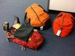 Maggie's luggafe for Antarctica