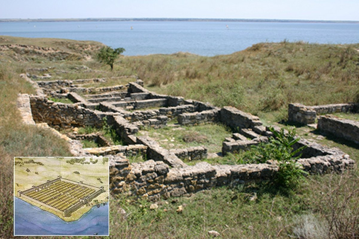 Ancient Greeks In Ukraine 2000yearold Settlement With