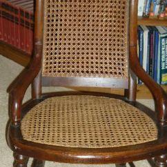Childs Rattan Chair B Cool Folding Quad Rocking Antiques