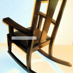 Wood Rocking Chair Styles Kitchen Chairs At Target Old Wooden
