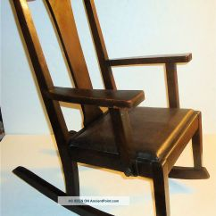 Antique Wooden Rocking Chairs Microfiber Dining Room 1900 Chair Styles Hairstyle Gallery