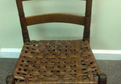 Antique Mission Chair