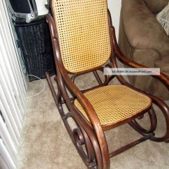 Antique Wooden Rocking Chairs Teal Recliner Chair Wood Styles Furniture