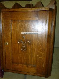 Antique Oak Medicine Cabinet | Antique Furniture