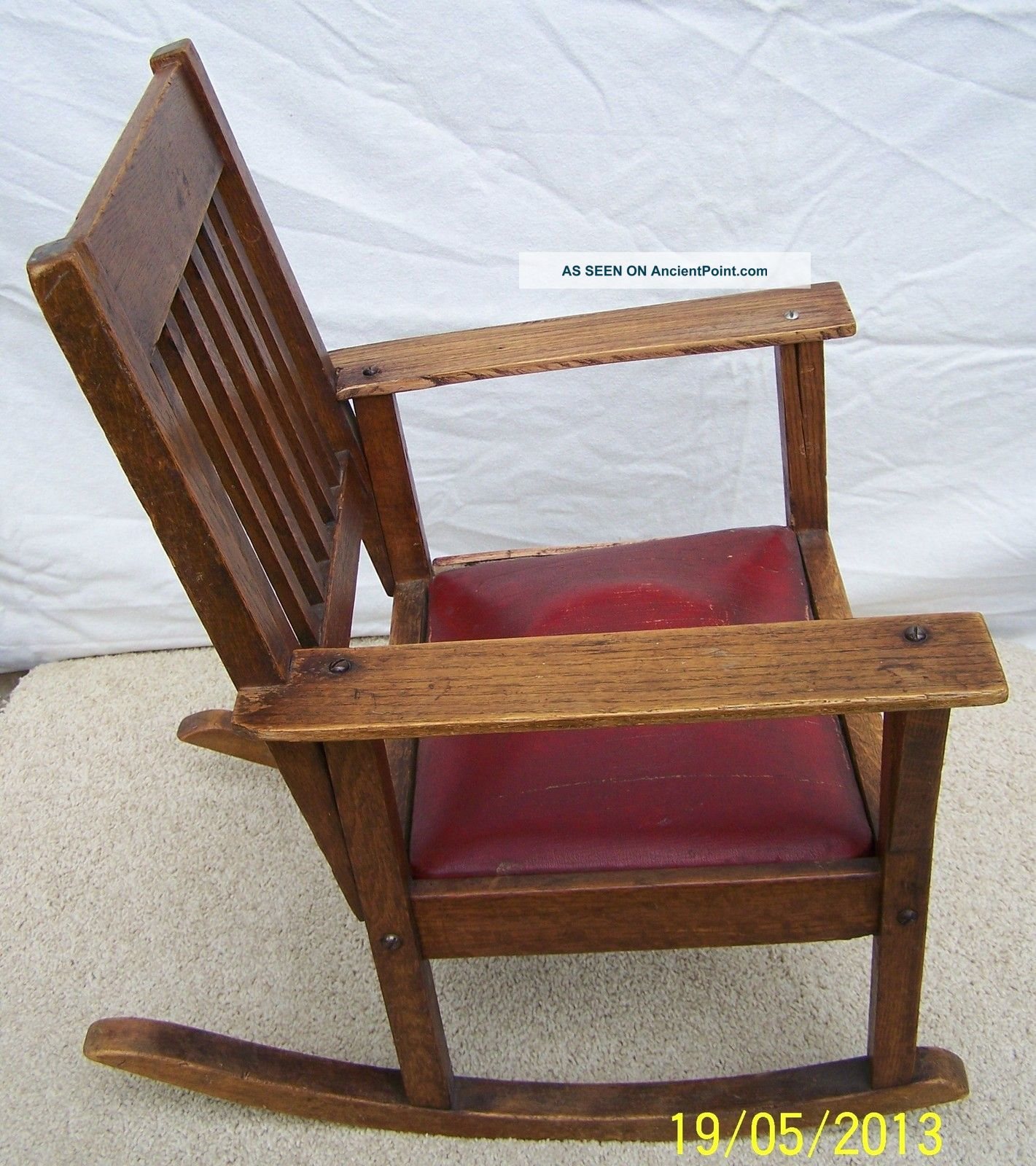 antique rocking chair price guide round about