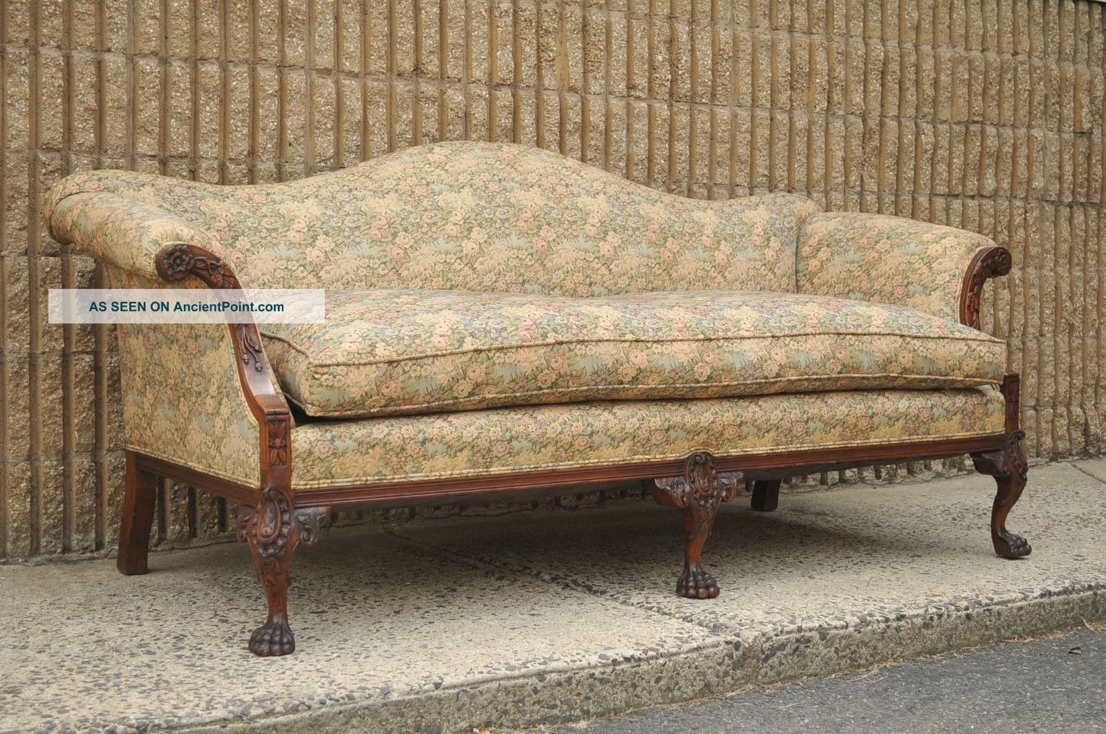 vintage camel back sofa deep sofas melbourne claw foot innovative camelback leather