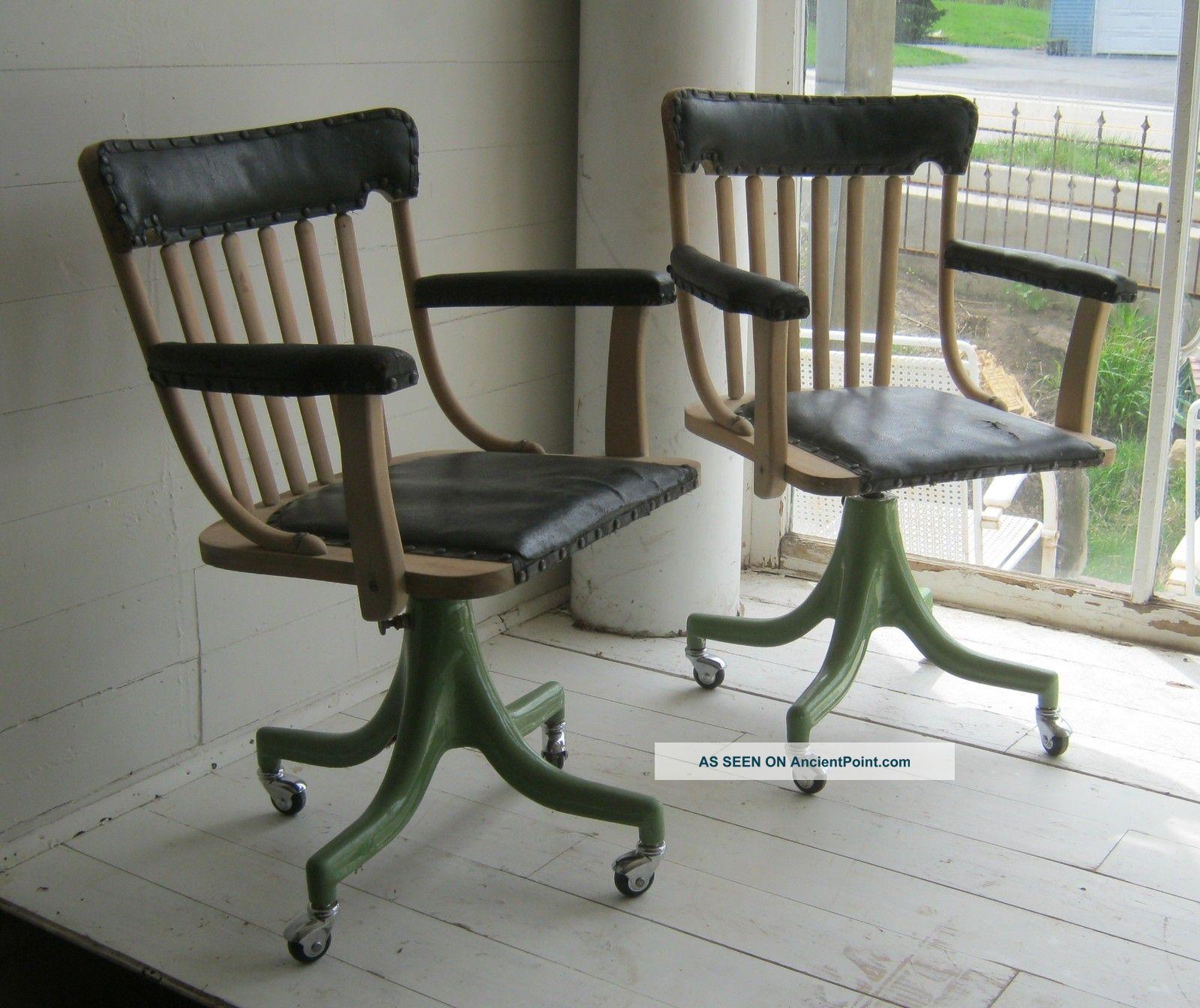 vintage office chairs fire pit and antique interior decorating accessories