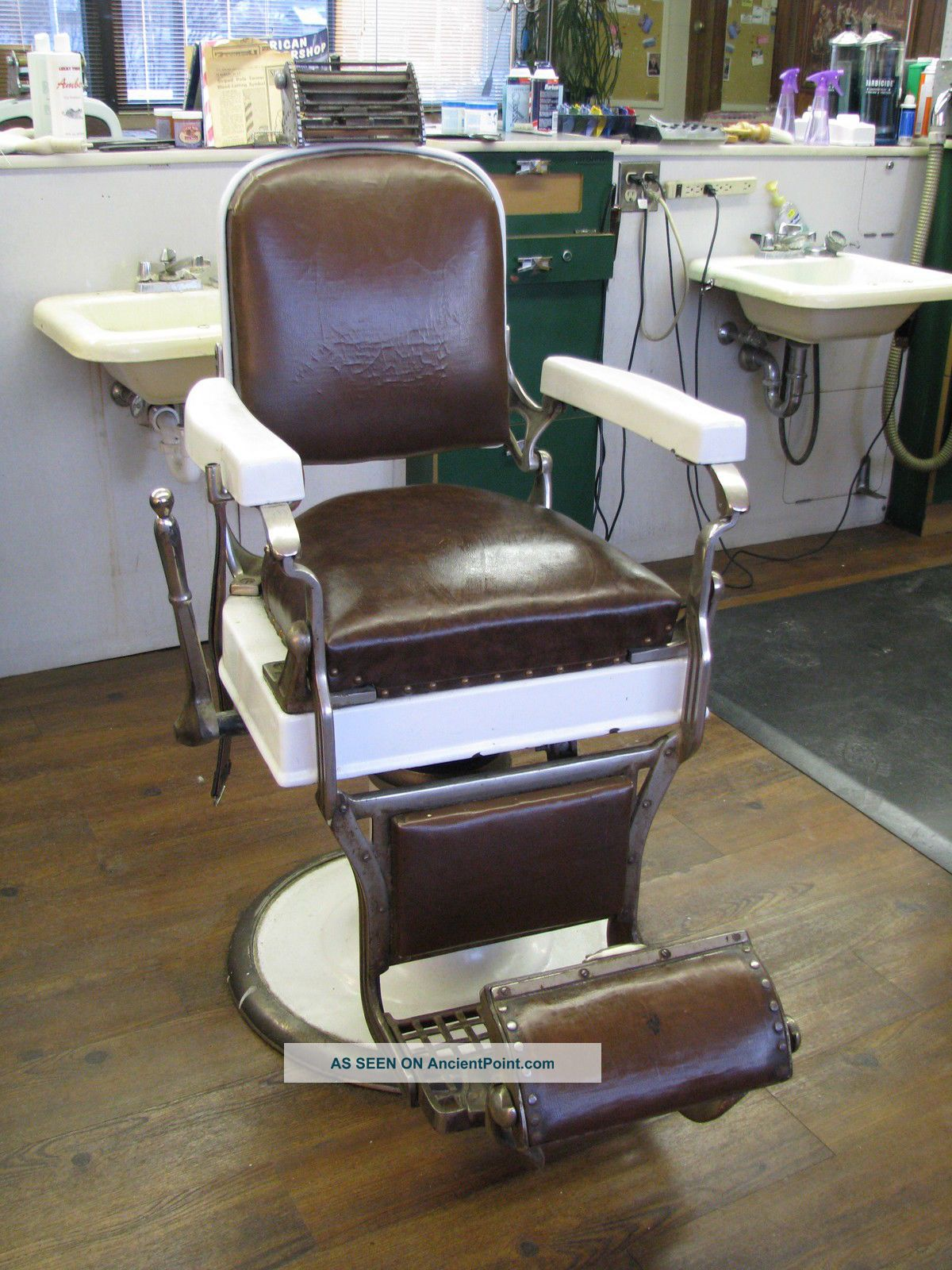 Old School Barber Chair Antique Barber Chairs Value Antique Furniture