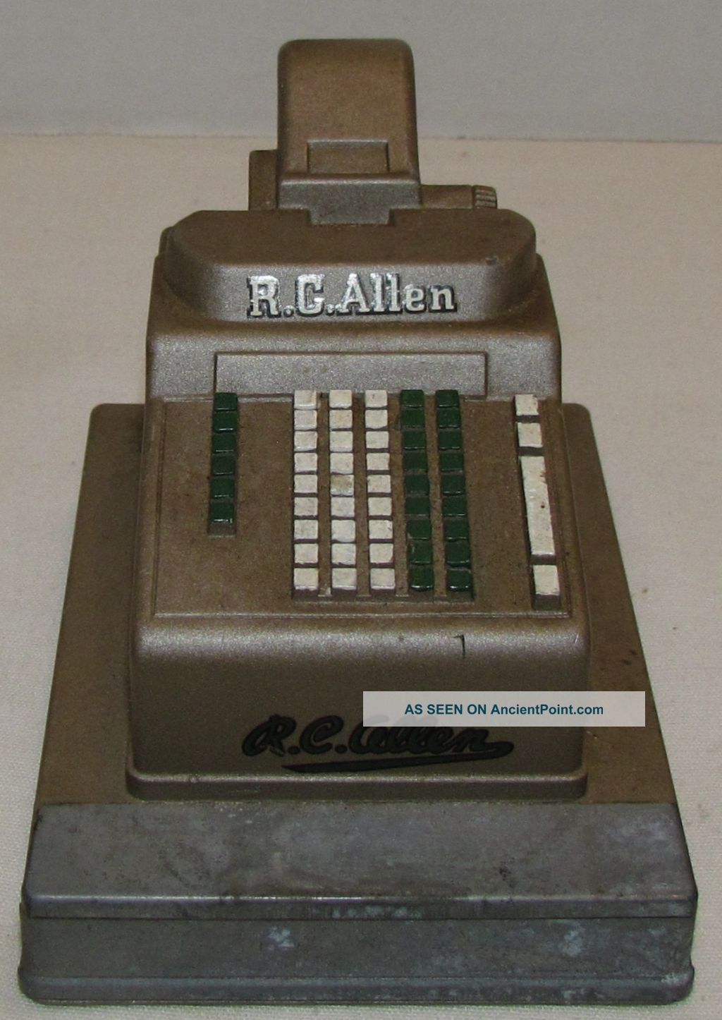 Rc Allen Cash Register : allen, register, Allen, Register, Salesman, Sample