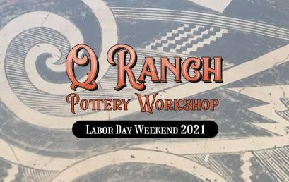 Summer Arizona Pottery Workshop at Q Ranch