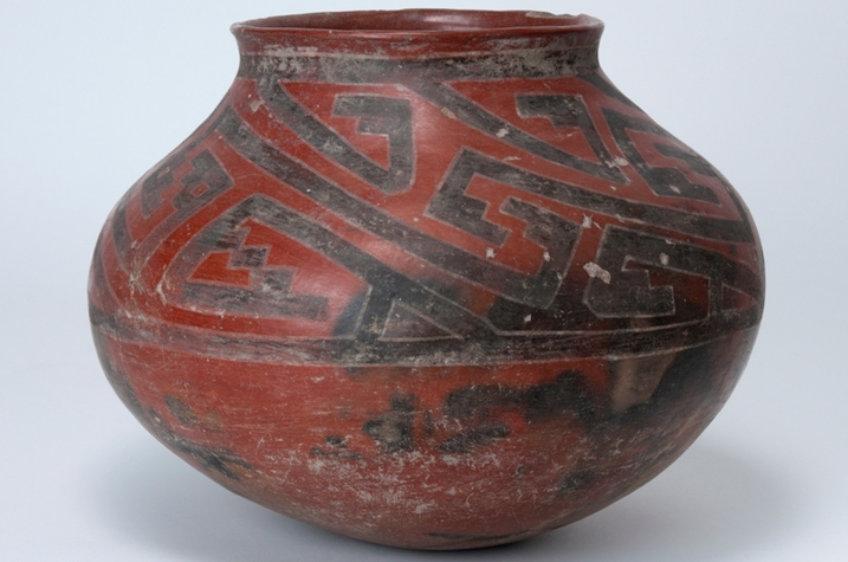 Kayenta Polychrome jar, Arizona State Museum