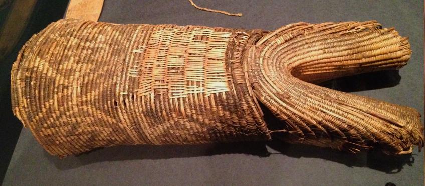 Anasazi bifurcated burden basket