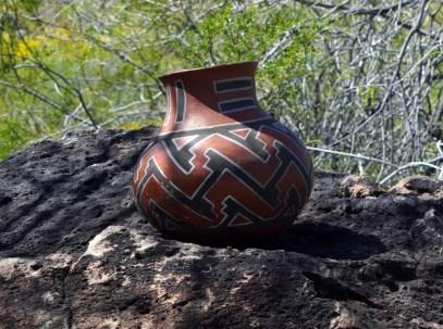 Tucson Polychrome replica jar