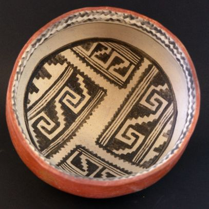 Cliff Polychrome bowl replica