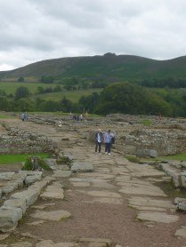 The road that goes through Vindolanda