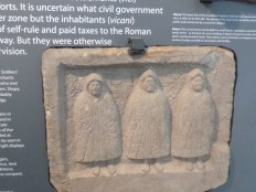 The hooded divinities at Housesteads