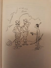 'Humorous' cartoon in The Man in the Kitchen