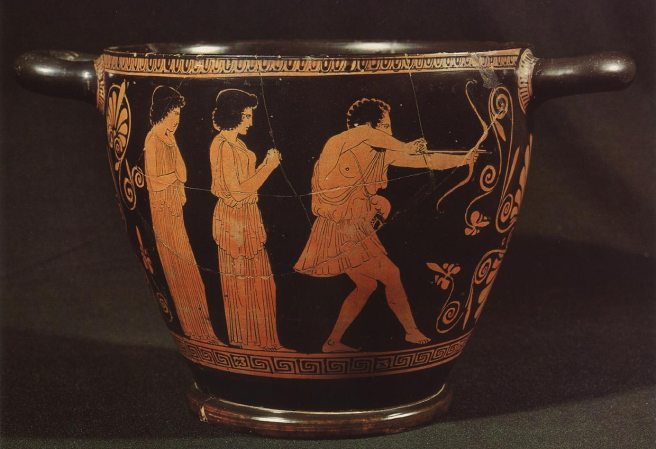 Image result for ancient greek archery vase