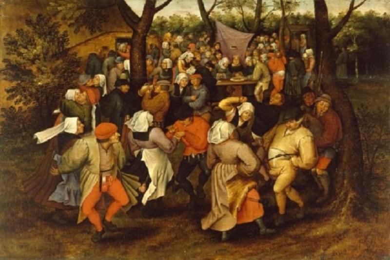 wabah menari abad pertengahan