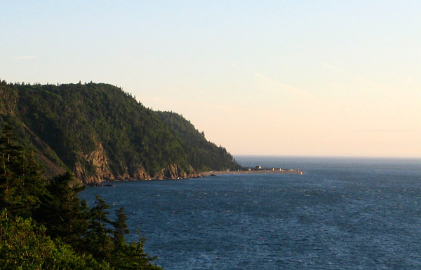 View from the Whistle, Grand Manan Island, New Brunswick