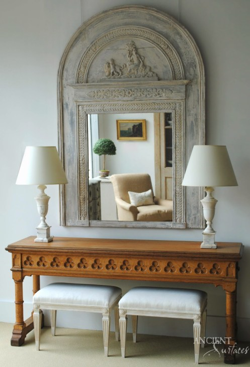 Gustavian Comode Tone on Tone Antiques copy