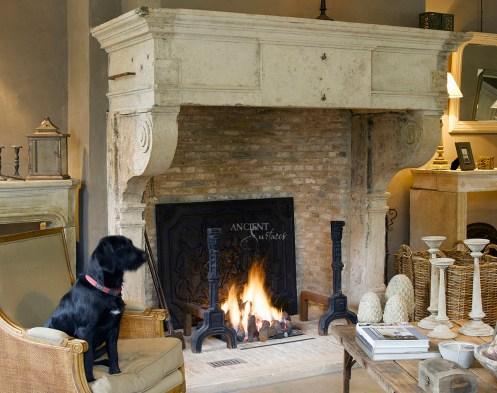Gustavian Era Fireplace copy