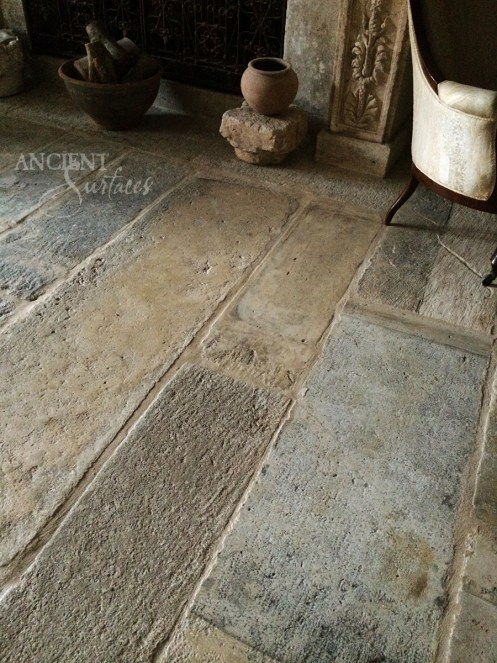 Antique Limestone Flooring Biblical