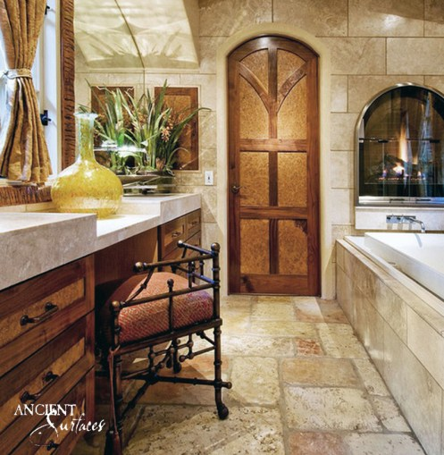 A Sophisticated Retreat. This inviting master bathroom will compel you to leave all worries at the door