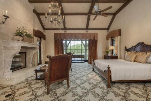 master-bedroom-proence-antique-limestone-fireplace