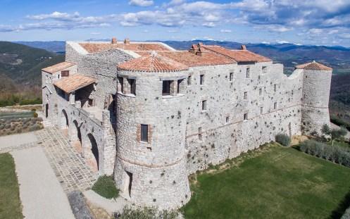 Nowadays Castello di Procopio Areal View