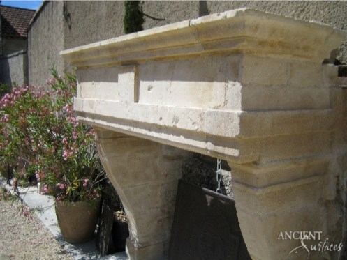outdoor-limestone-fireplace