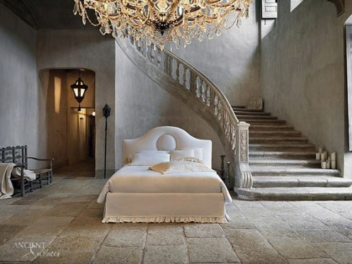 antique-limestone-flooring-in-french-master-bedroom