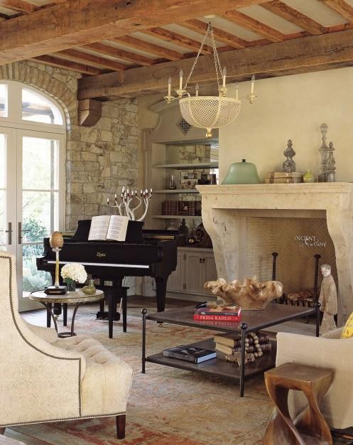 limestone-fireplace-mantel-antique-living-room-farmhouse