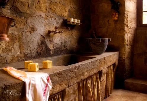 Antique Limestone Trough Sink by Ancient Surfaces-2
