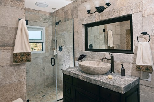 Antique Limestone Bathroom by Ancient Surface