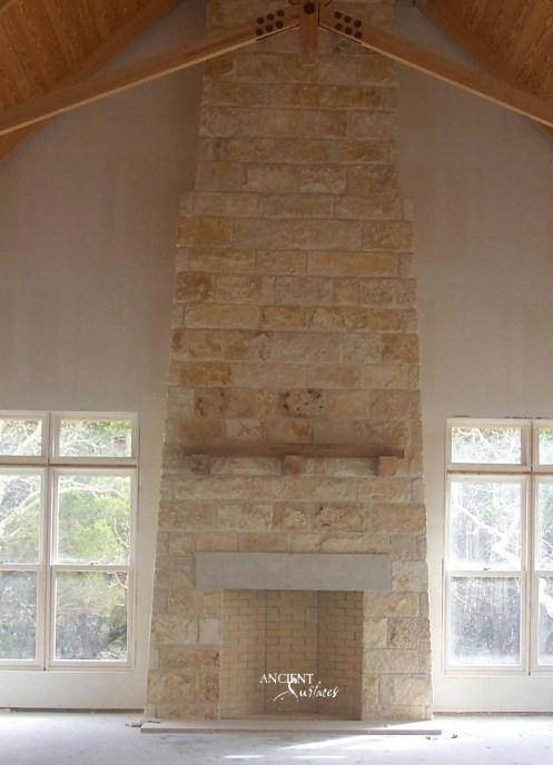 antique-limestone-fireplace-mantel