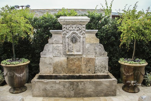 outdoor-limestone-wall-fountain-carved-antique