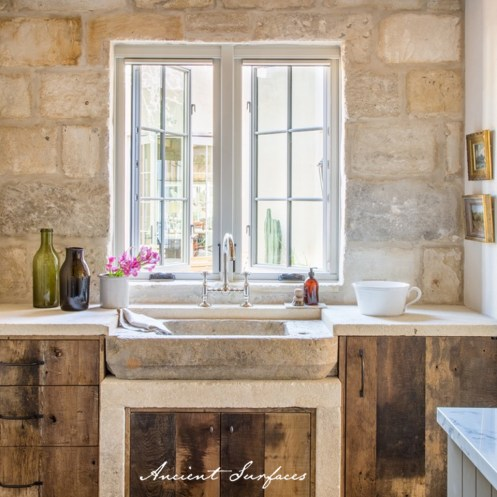 french-farmhouse-ancient-surfaces-kitchen-provence-limestone-sink-stone-wall-cladding